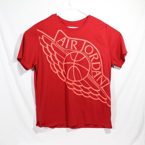 e4735da08d091c Jordan Other - Air Jordan Wings Logo T Shirt Red 2XL